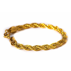 Design By TSS ROPE BRACELET (GOLD)