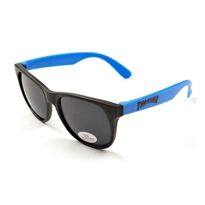 THRASHER  LOGO SUNGLASSES (BLUE)