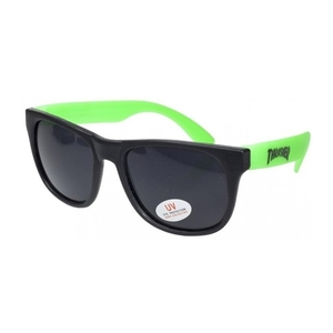 THRASHER LOGO SUNGLASSES (GREEN)