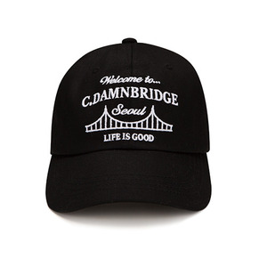 BRIDGE ballcap Black