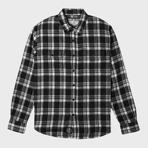 REBEL8 WWD FLANNEL (GREY)