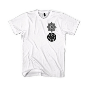 BLACKSCALE Tredic X Star T-Shirt, White