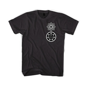 BLACKSCALE Tredic X Star T-Shirt, BLACK