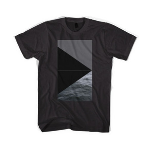 BLACKSCALE Devil's Triangle T-Shirt, black