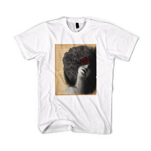 BLACKSCALE God's Goodness T-Shirt, White