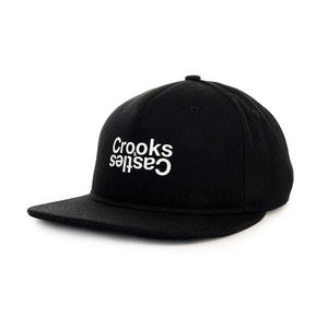 Crooks and Castles The Opposite Snapback in Black