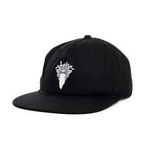 Crooks and Castles The Bandusa Snapback in Black