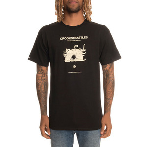 Crooks and Castles The You Mad Tee in Black