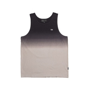 BLACKSCALE DIP DYE REBEL TANK TOP BLACK