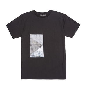 BLACKSCALE LANDSCAPE T-SHIRT BLACK