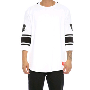 Crooks and Castles 3/4 SLV FOOTBALL JERSEY TOECUTTER WHITE