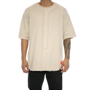 Crooks and Castles S/S BASEBALL JERSEY FURY NOMAD KHAKI