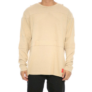 Crooks and Castles L/S HOCKEY JERSEY FURY NOMAD KHAKI