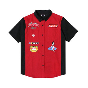 FTP PIT CREW WORK SHIRT(RED)