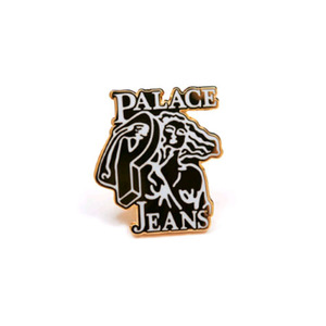 PALACE JEANS PIN BADGE