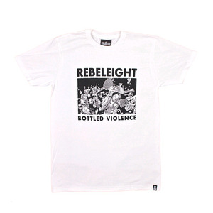 REBEL8 BOTTLED VIOLENCE SOFT TEE WHITE