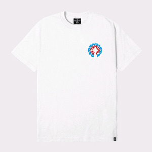REBEL8 PARANOID TEE WHITE