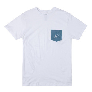 HUF DENIM POCKET TEE