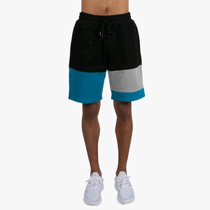 DOPE Knockout Paneled Sweatshorts BLUE