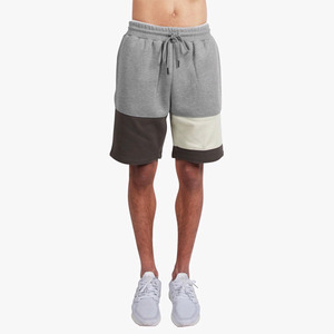 DOPE Knockout Paneled Sweatshorts GREY