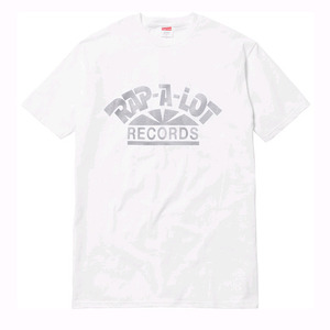 SUPREME RAP A LOT RECORDS TEE WHITE