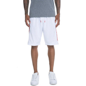 CROOKS AND CASTLES Basketball Shorts - Circuit WHITE