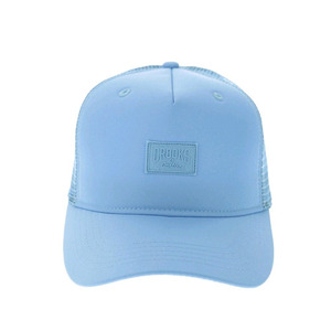 CROOKS AND CASTLES Snapback Cap - Mesh Logo SKYBLUE