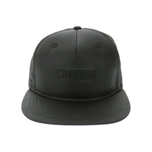 CROOKS AND CASTLES Men's Woven Cap - F-1 BLACK