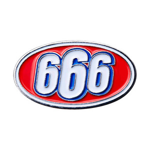 SUPREME 666 OVAL PIN