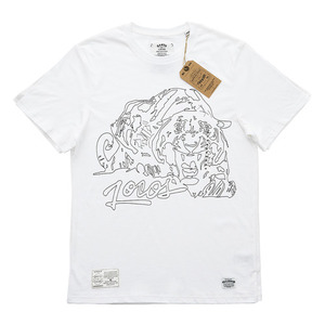 QANTO DE LOCOS MAD TIGER_TEE_WHITE
