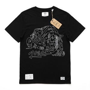 QANTO DE LOCOS MAD TIGER_TEE_BLACK