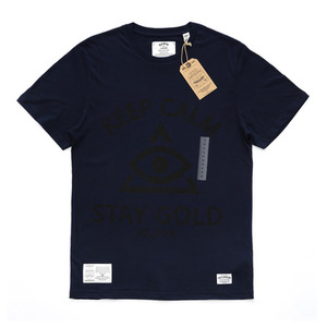 QANTO DE LOCOS STAY GOLD_TEE_NAVY