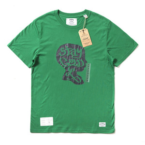 QANTO DE LOCOS BOY'S HEAD TEE_GREEN