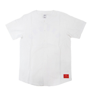 CROOKS & CASTLES Men's Woven Baseball Jersey -Indisputable