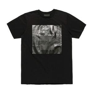 [2017 Summer] BLACKSCALE Black Parallel T-Shirt Black