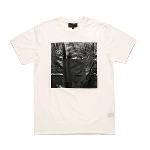 [2017 Summer] BLACKSCALE Black Parallel T-Shirt White