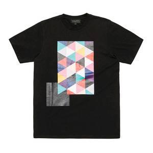 [2017 Summer] BLACKSCALE Tri Vision T-Shirt Black