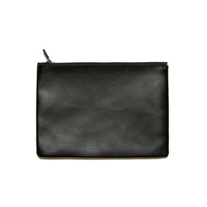 BLACKSCALE Zip Pouch Black
