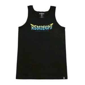 REBEL8 DISCARDED PARADISE TANK BLACK