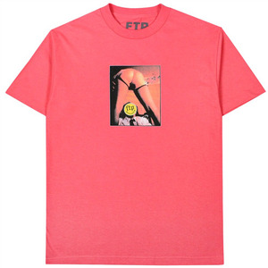 FTP HAPPY ENDING TEE(CORAL)