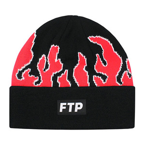 FTP FLAME BEANIE(RED)