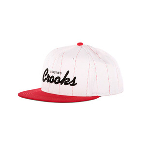 CROOKS & CASTLES Mens Woven Snapback Cap - Team