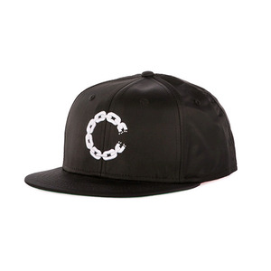 CROOKS & CASTLES Mens Woven Snapback Cap - Chain C