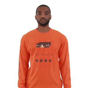 L.O.L.O LOLO BISTEN T-SHIRT L/S (Orange/Brown)