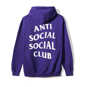 ANTI SOCIAL SOCIAL CLUB PURPLE RAIN HOODY