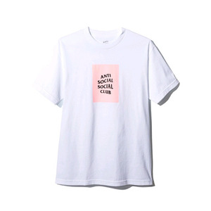 ANTI SOCIAL SOCIAL CLUB THE CLUB TEE WHITE W/PINK