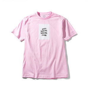 ANTI SOCIAL SOCIAL CLUB THE CLUB TEE PINK