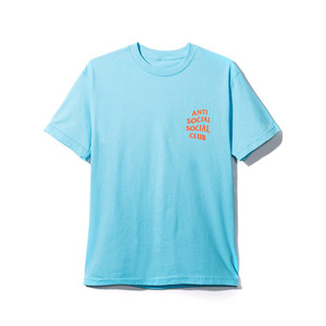 ANTI SOCIAL SOCIAL CLUB PACIFIC BLUE LOGO TEE