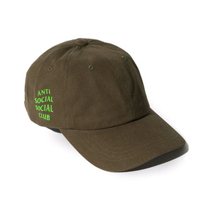 ANTI SOCIAL SOCIAL CLUB WEIRD CAP -LODEN