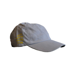 ANTI SOCIAL SOCIAL CLUB WEIRD CAP - LIGHT GREY
